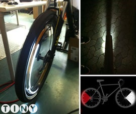 Rotating Bike Lights