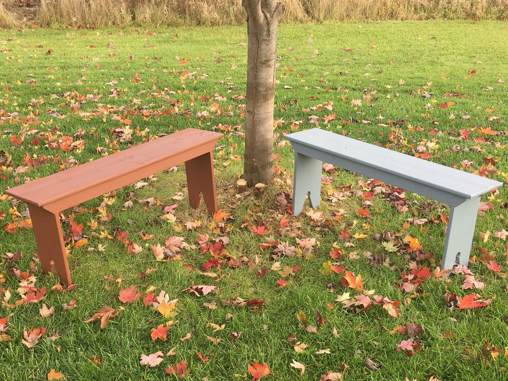 Picture of Shaker 5 Board Bench