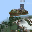 Minecraft Floating Mountain Island