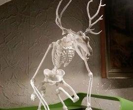 3D Printed Wendigo Skeleton - Freedownload ^^