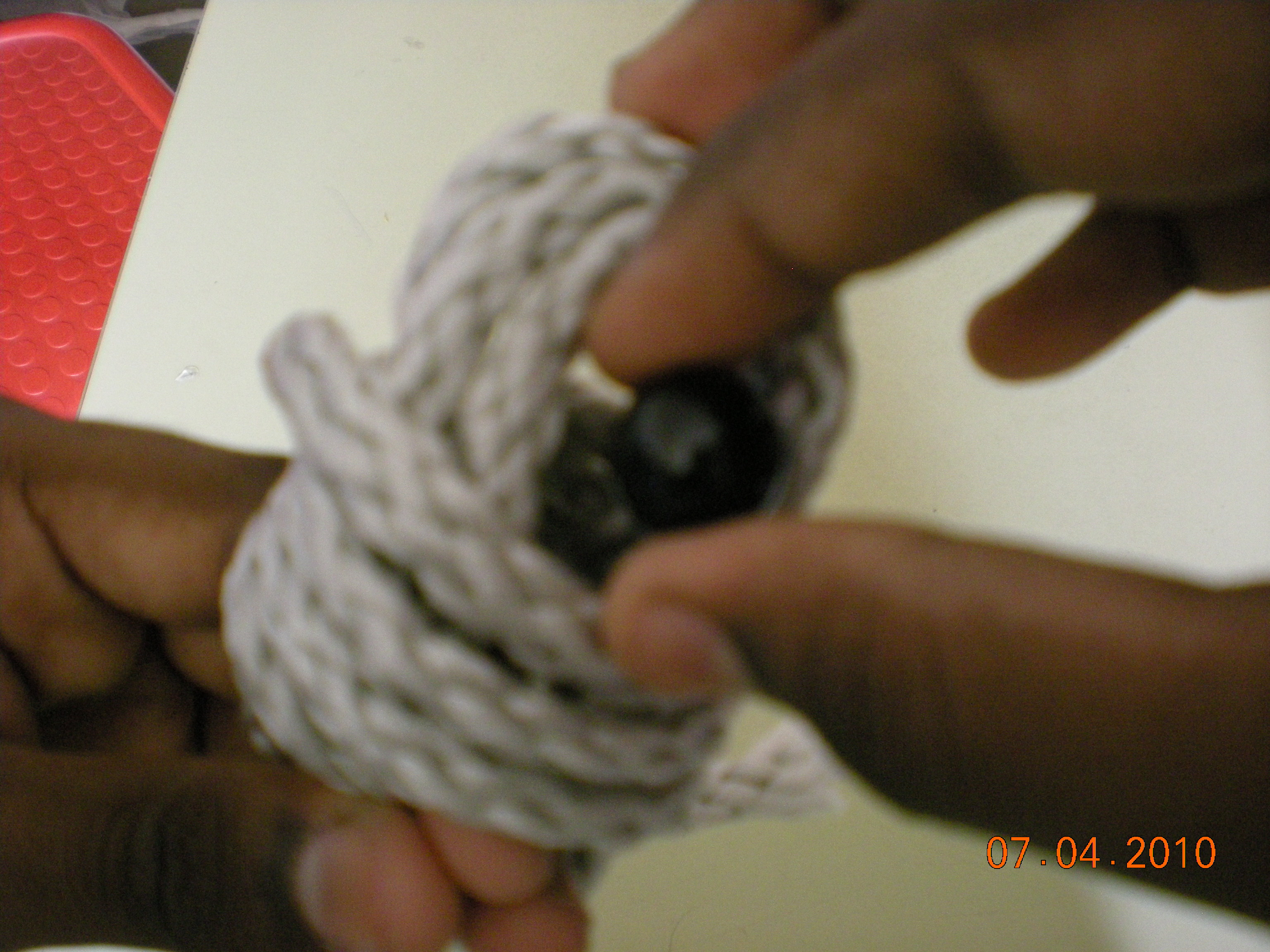 Picture of Making the Monkey's Fist