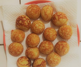 Semolina Sweet Balls