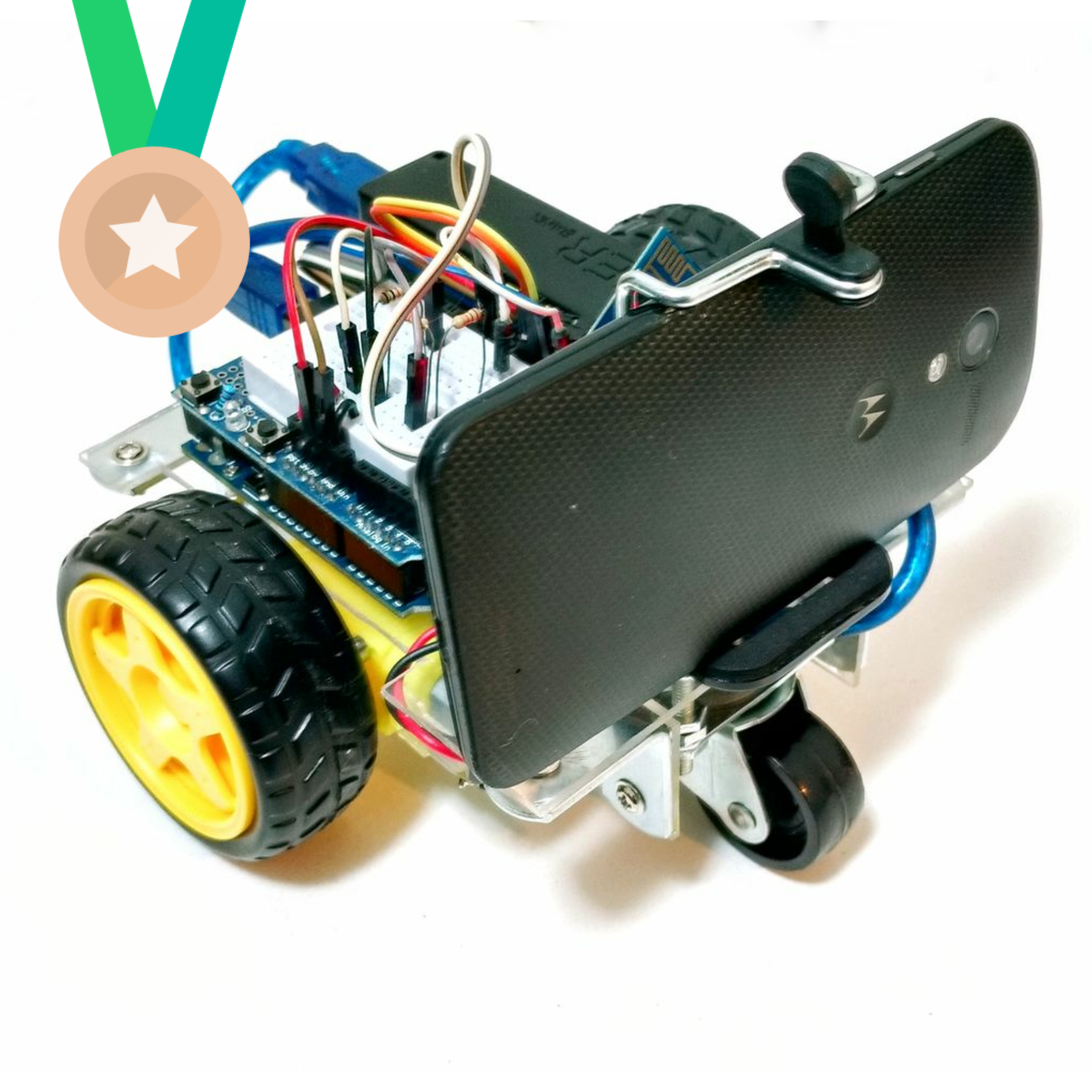 Picture of WiDC - Wi-Fi Controlled FPV Robot (with Arduino, ESP8266 and DC Motors)