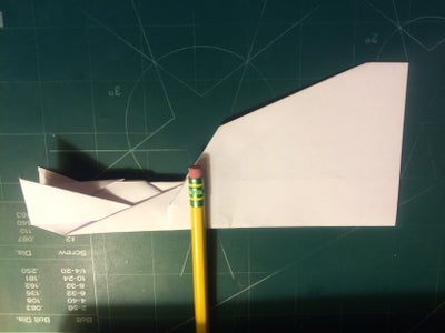 Nose, Canard, Wing and Winglet Folding; Taping