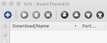 Picture of Open DownThemAll (Firefox Extension) Directly From the Unity Launcher