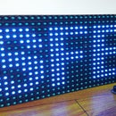 Display Text at P10 LED Display Using Arduino