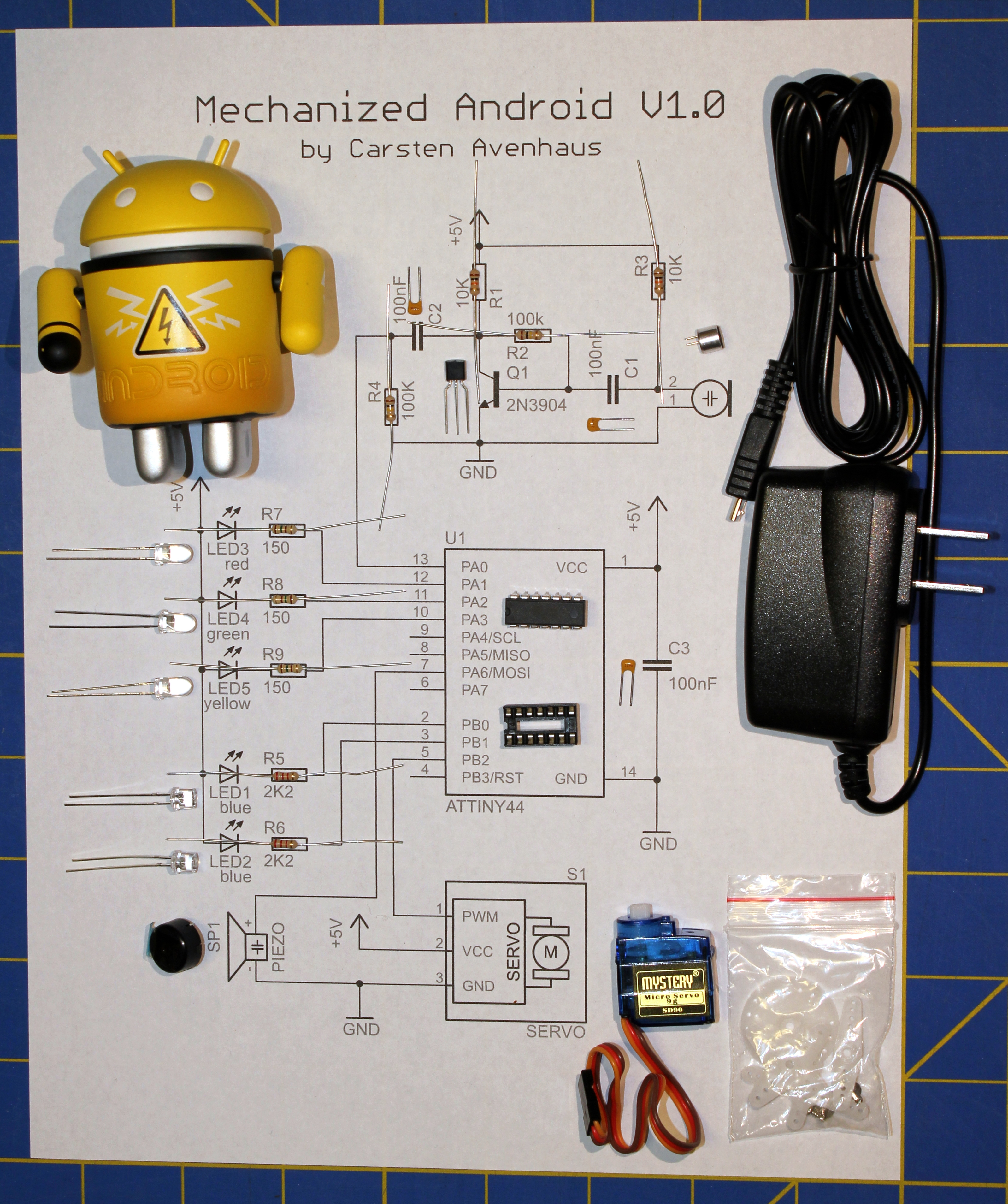 Picture of Parts and Schematics
