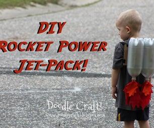Kids Super Sci-Fi Rocket Fueled Jet Pack Made for Pennies!
