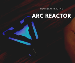 Iron Man's Arc Reactor That Pulses With Your Heart Beat