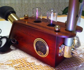 Working Night-vision Periscope. (Steampunked)