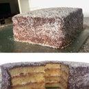 Giant Layered Lamington Cake