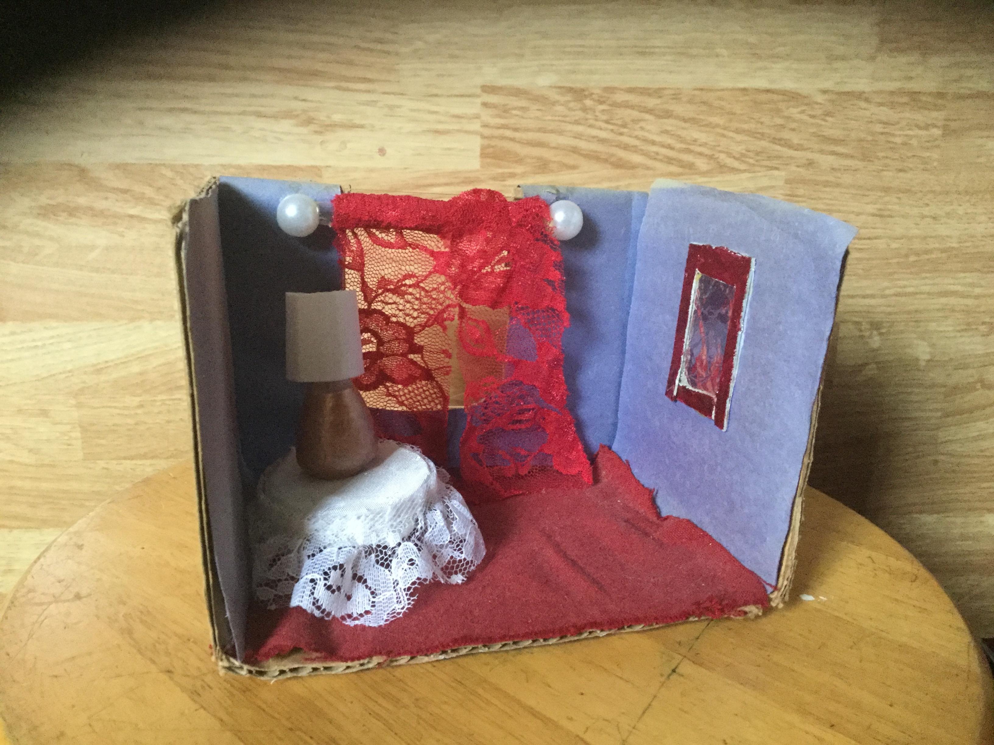 Picture of Mini-Living Room Diorama