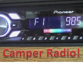 Camper Radio Instlation