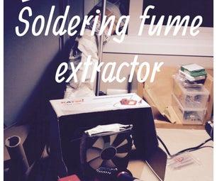 0€~ Diy Soldering Fume Extractor