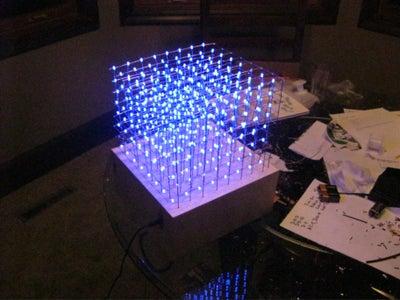 Share: My LED Cube 8x8x8