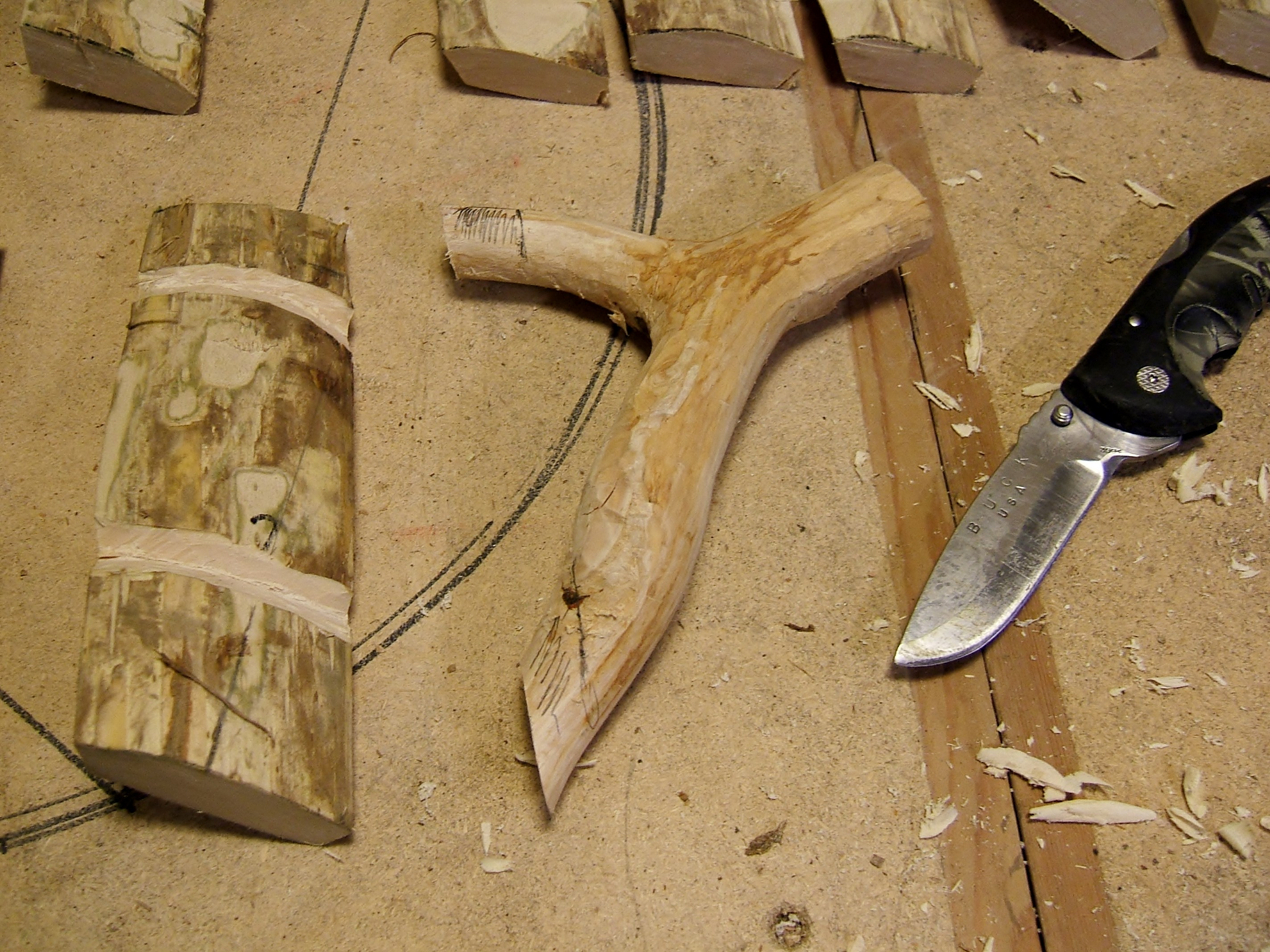 Picture of Shaping the Handle