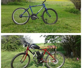 Mini Cafe Racer, Board Tracker, Motorized Bicycle, Frankenstein Machine