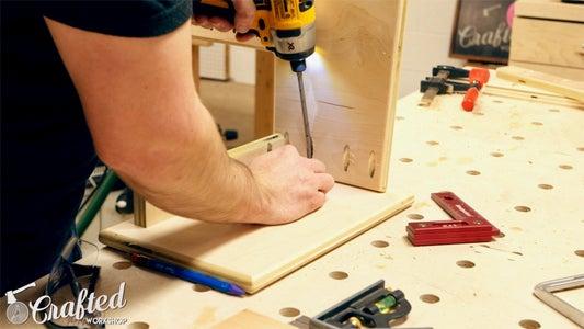 Drill Pocket Holes & Assemble Step Stool