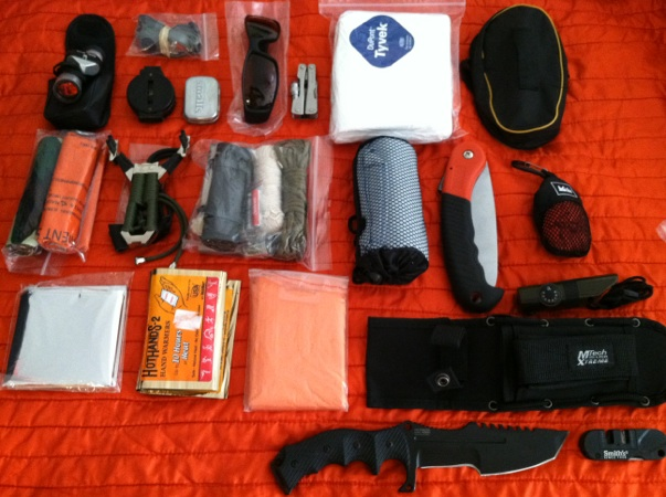 Picture of Main Pouch Contents