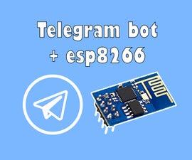 Telegram Bot  Esp8266-001(Arduino UNO or NodeMCU)