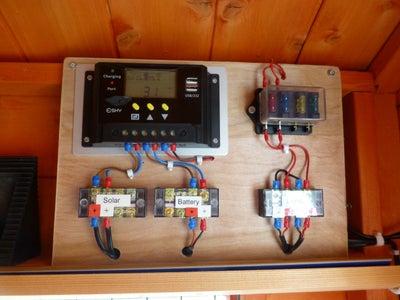 Shed 12v Solar Lighting System