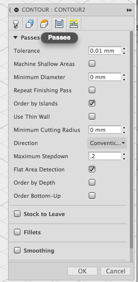 Picture of Create the Finishing Toolpath