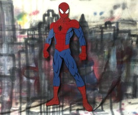 Spider-Man Wall Art - Limited tools