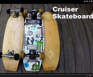 DIY Recycled Cruiser Skateboard