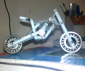 Making the Replica of Engine