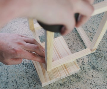 Connecting Frame to Base