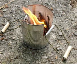 Tin Can Camping Stove