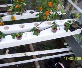 Hydoponic garden - Gravity feed