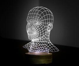 3D Head Lamp