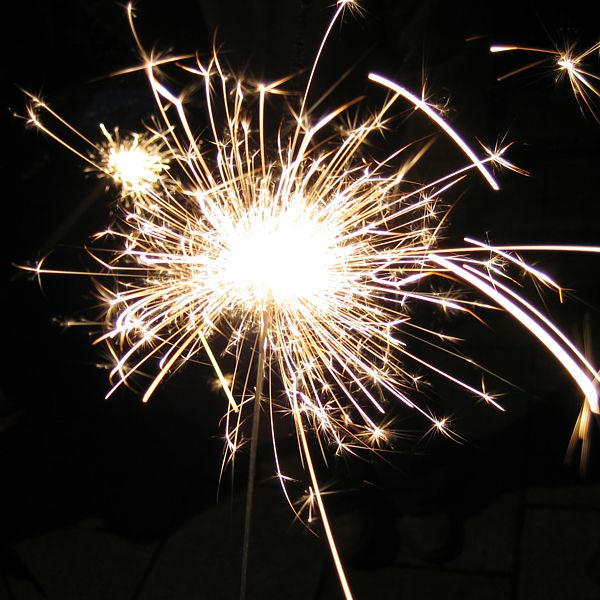 Picture of Cool Sparkler Explosion