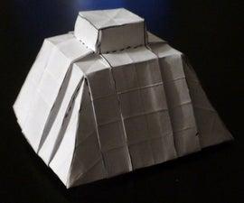 Origami Mesoamerican Pyramid