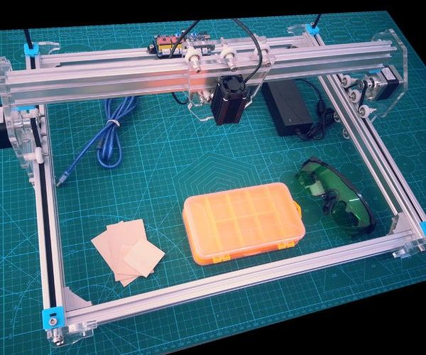 Cheap laser engraver and cut