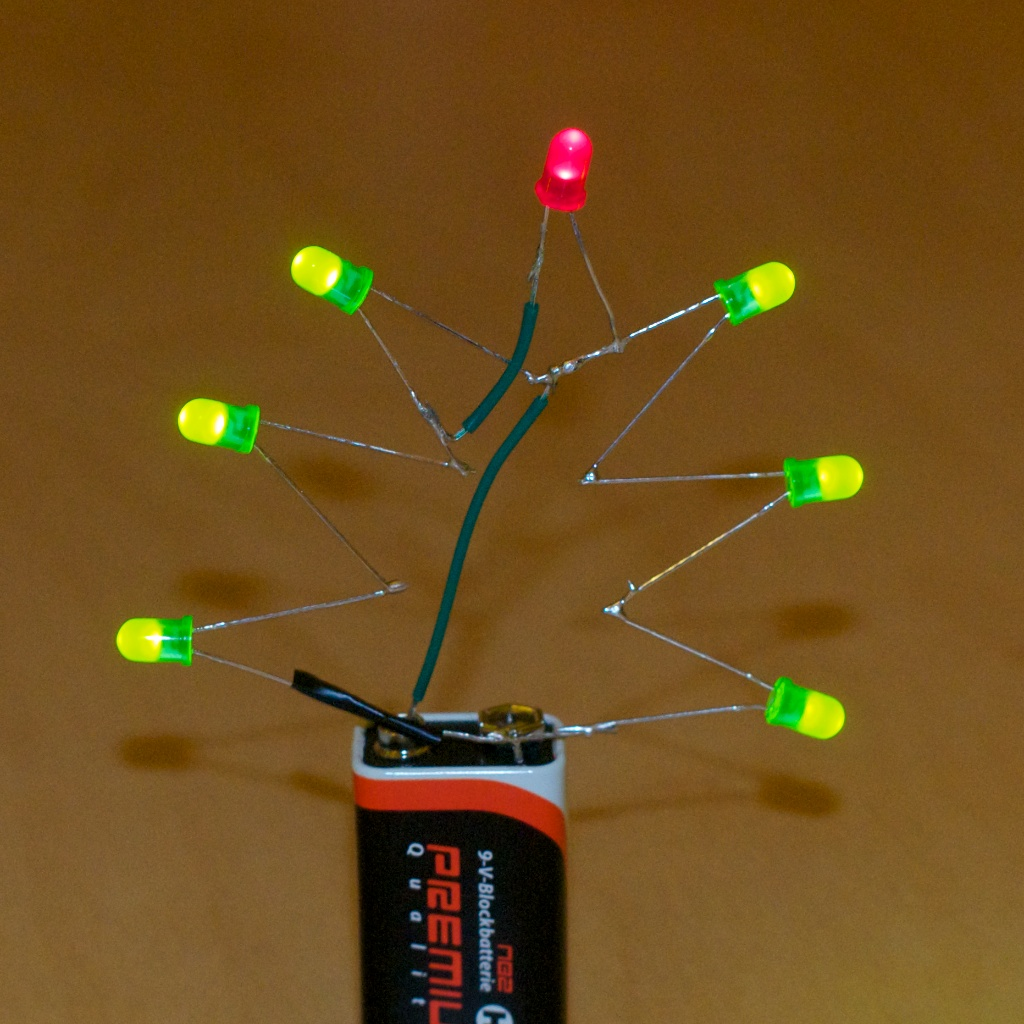 Picture of Christmas LED Tree