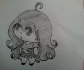 How To Draw a Fat and Simple Chibi