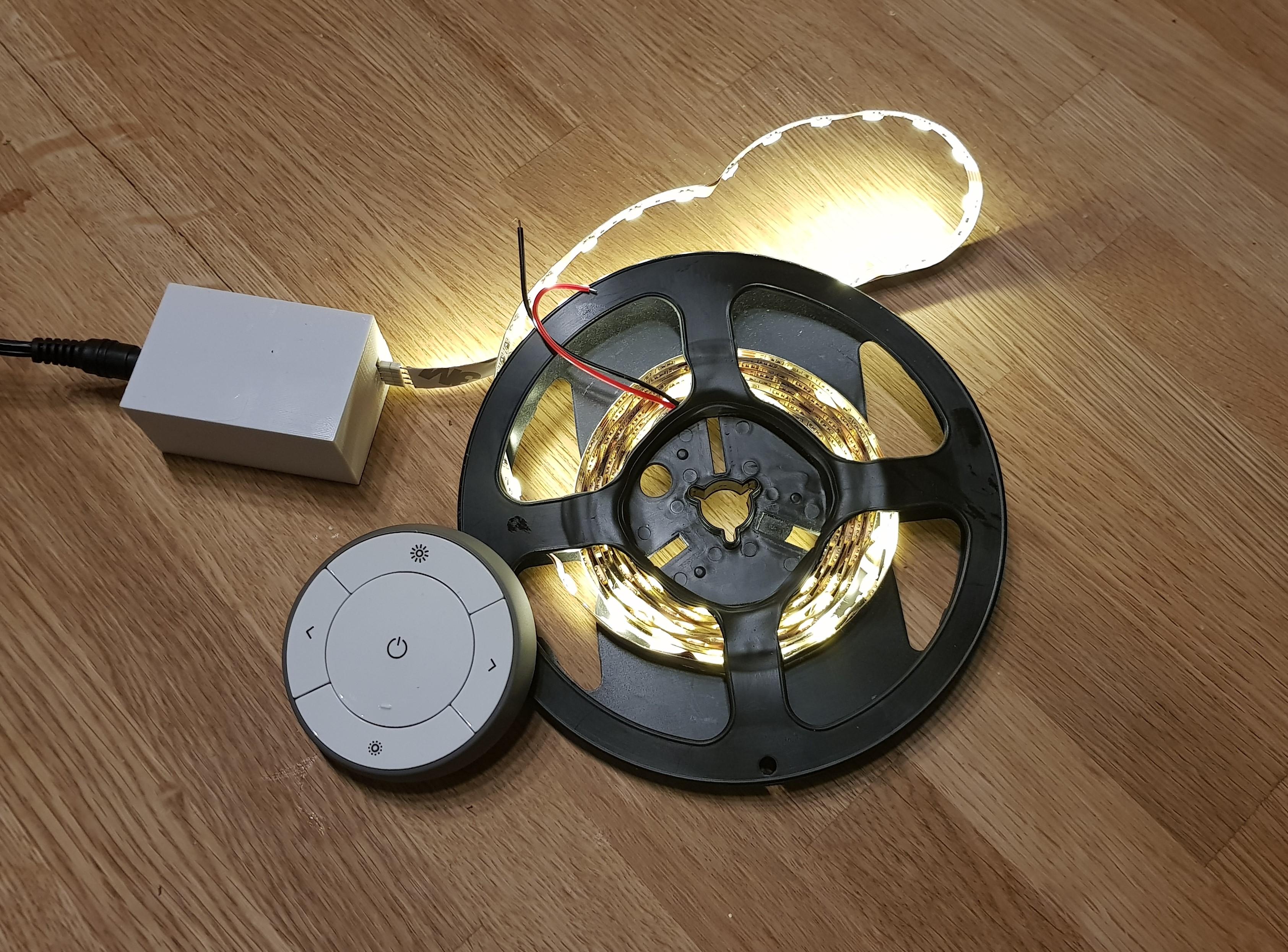 Picture of Zigbee LED Strip Dimmer (IKEA Trådfri Hack)