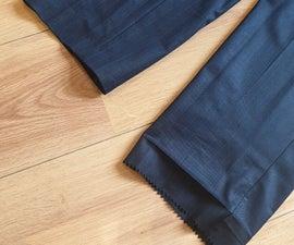 How to Use Hemming Tape (Wonderweb/Wundaweb) on Trousers