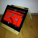 How to make an easy Ipad/ book stand
