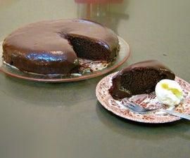 Amazingly simple chocolate cake