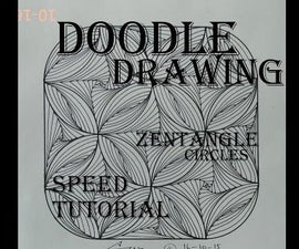 Doodle Paradox in Minutes / Zentangle Circles