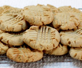 Easy Soft and Chewy Peanut Butter Cookies