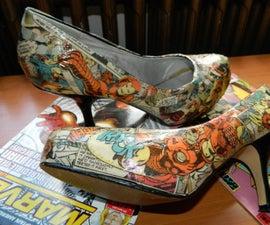 Comic Book Shoes