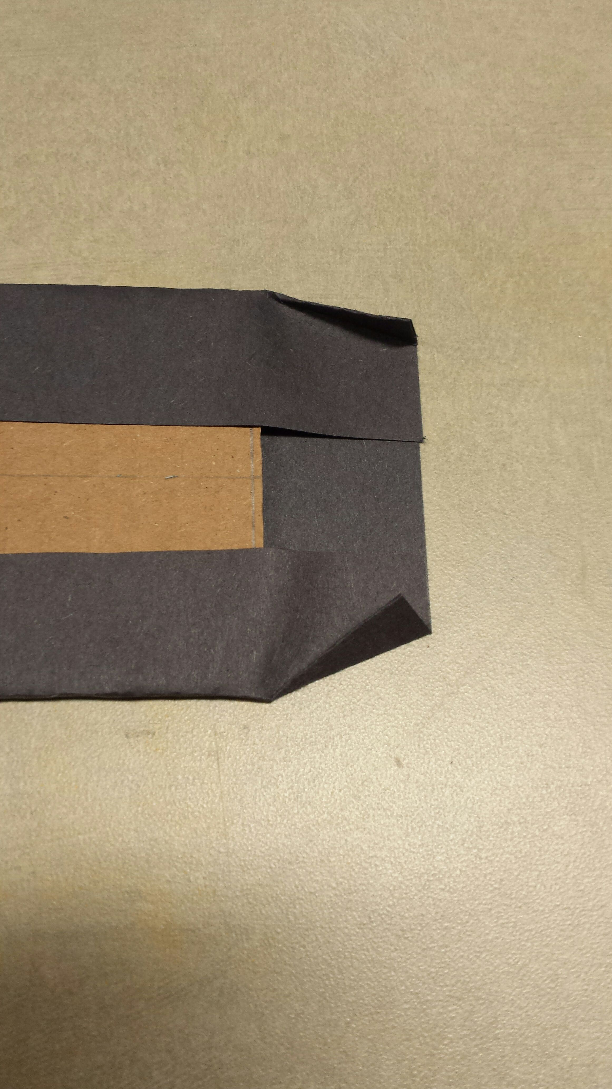 Picture of LEDs: Cardboard Support