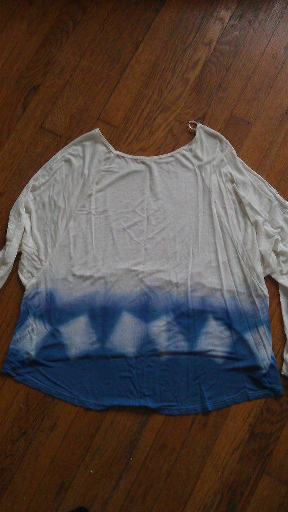 Itajime Shibori Shirt : 5 Steps