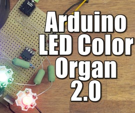 DIY Arduino LED Color Organ 2.0