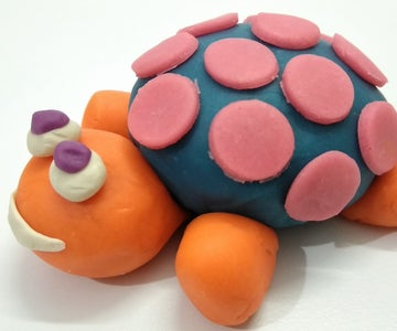 Play Doh Sea Turtle