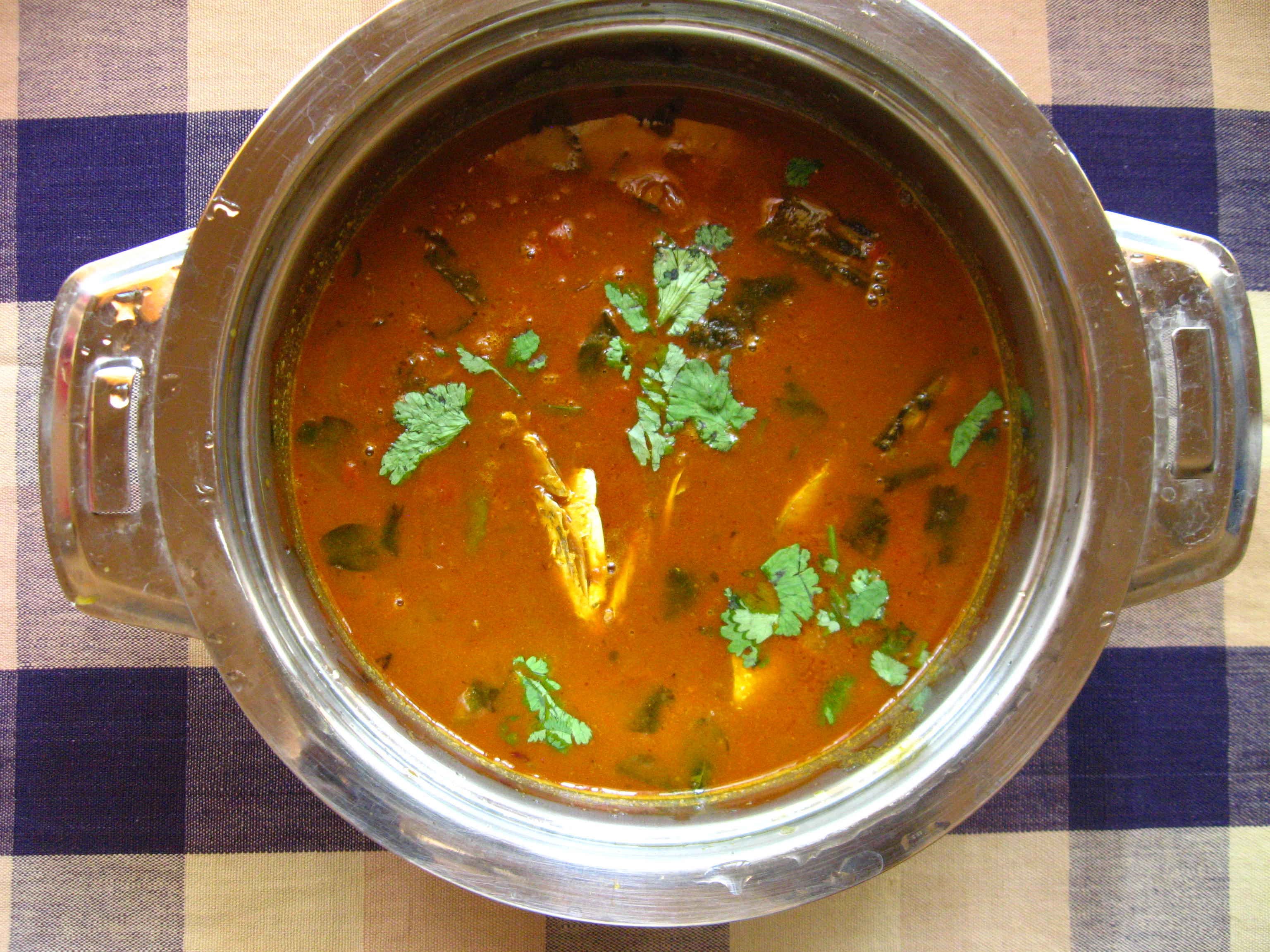 Picture of Fish Curry With Snakehead Murrel Fish